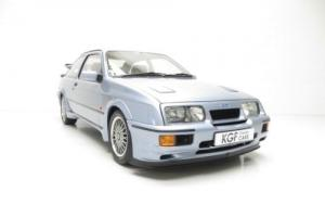 One of 52 Moonstone Blue Ford Sierra RS500 Cosworth's with Just Four Owners.