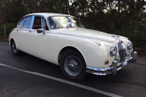 Jaguar MK II 3 4 1966 4D Sedan Manual Overdrive ALL Sychro Mark 2 in VIC Photo