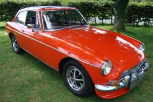 MG B GT 1.8 CHROME BUMPER 1970 mk 2 leather interior, lots of history, OVERDRIVE Photo