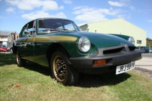 MG B GT JUBILEE EDITION 1.8 , incredible hsitory file, original purchase invoice
