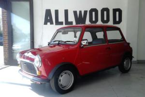Rover MINI 1000 CITY E AUTO 1991 ONLY 16440 MILES Photo
