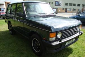 Range Rover, BROOKLANDS GREEN, CLASSIC LAND ROVER, drives well LOADS OF HISTORY