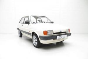 A Delightfully Humble and Pristine Ford Fiesta Mk2 1.1L with Just 42,769 Miles.