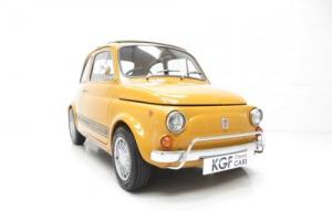 An Incredible UK Fiat 500 750 Abarth Evocazione with Full History from New