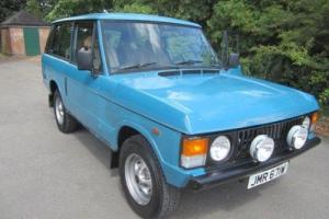 Rover RANGE ROVER 3.5 Lt 2 Door Photo