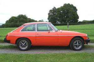 1980 MGB GT,42000 miles,Ziebart rust proofed from new,lovely condition.