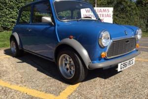 1990 Rover Mini City E. 1275CC. Henley Blue. Low Mileage. Full Leather interior.
