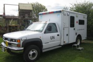 AMERICAN CLASSIC 1998 RHD MILITARY CHEVROLET AMBULANCE/CONVERTED TO A CAMPER