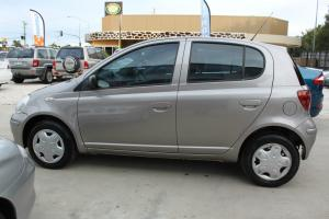 Toyota Echo 2003 5D Hatchback Manual Only 91000KLMS With Current RWC in QLD