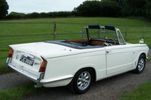 Superb 1968(F) Triumph VITESSE Mk1 2 Litre Convertible,Exceptional condition