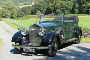 1935 Rolls-Royce 20/25 Corsica Allweather Cabriolet