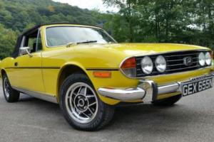1974 Triumph Stag, Totally original, Brand new WRCC refurb costing £1000's