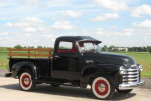 1949 Chevrolet 3100 Truck ( 5 Window ) - Black