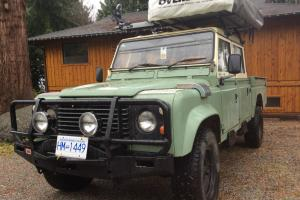 Land Rover : Defender 130 with High Capacity Pick Up Box
