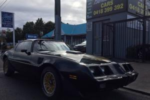 1979 Pontiac Formula Trans AM Smokey AND THE Bandit Theme V8 4 Speed Firebird