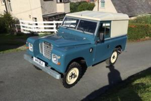 "Land Rover Series 3 88"" Hardtop 2 Owners"