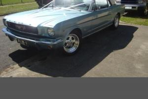 Mustang 1966 'A' Code Automatic 289 in VIC