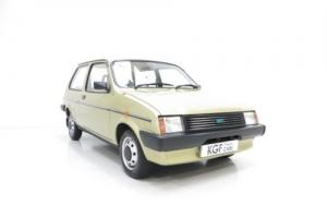 A Remarkable very Early Austin Mini Metro with 4,914 Miles from New for Sale