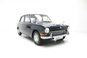A Revolutionary Triumph 1300 Saloon with Just Two Former Keepers. Photo