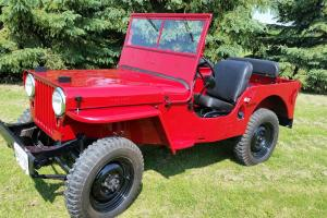 Willys : CJ 2A