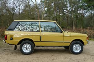 1978 2 DOOR LANDROVER RANGE ROVER BAHAMA GOLD  Photo