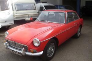 1968 (G) MGB GT with Wires + Sunroof £5995