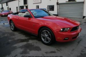 2010 FORD MUSTANG CONVERTIBLE 4.0 LITRE AUTOMATIC 48,000 MILES WITH HISTORY