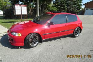 Honda : Civic SI