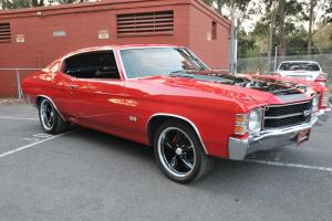 1971 Chevrolet Chevelle Malibu 307 V8 Auto NOT A Camaro Mustang Belair in VIC
