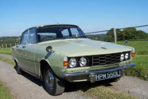 1973 Rover 2000 SC P6 solid car,lovely useable condition,MOT August 2016. Photo