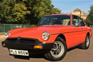 1980 MGB GT - 62,000 ORIGINAL MILES / ONE FAMILY FROM 1988 / OUTSTANDING EXAMPLE Photo