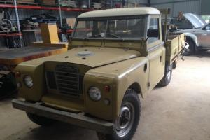 Series 3 Land Rover in VIC
