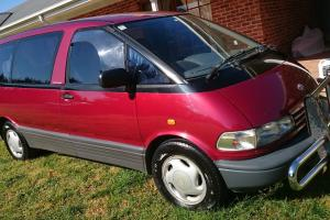 Toyota Tarago GLX 1992 3D Wagon Automatic 2 4L Multi Point F INJ Seats