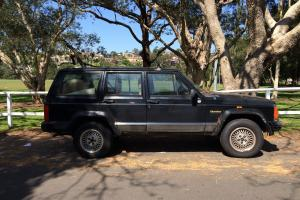 Jeep Cherokee Limited 4x4 1996 4D Wagon Automatic 4L Electronic F INJ