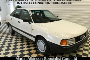 1988 F Audi 80 1.8 S ~TIME WARP CAR IN FANTASTIC CONDITION THROUGHOUT~