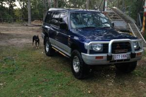 Mitsubishi Pajero Exceed GLS LWB 4x4 1999 4D Wagon Manual 3 5L Multi in QLD