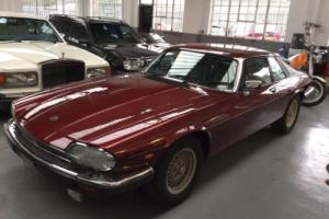 Jaguar XJS 5.3 auto V12 50k miles superb throughout. Photo