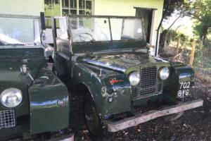 """Land Rover Series 1 80"""" 1952 Ex Military"""