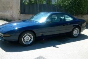BMW 850 5.0 i 1993 A1 CONDITIONS RARE MANUAL 68000 ORIGINAL MILES
