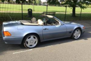 Metallic Blue Mercedes-Benz SL280 2.8 auto SL280, 2 door convertible