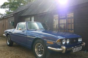 TRIUMPH STAG 3.0 V8 MANUAL O/D - GROUND UP RESTORATION !!