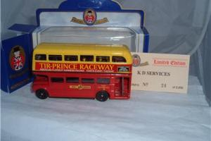 KD ROUTEMASTER TIR-PRINCE RACEWAY RHYL & GRONANT TOWYN HARNESS RACING AMERICAN ! Photo