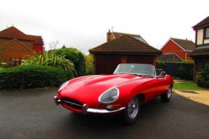 1963 Jaguar XKE (E Type) Series I 3.8 Roadster