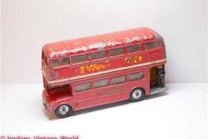 Corgi 468 London Transport Routemaster Bus - Great Vintage Original Model Old Photo