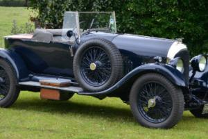 1924 3.0 Litre Bentley Boat tail to red label spec.