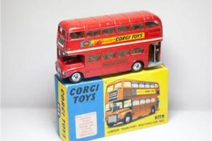 Corgi 468 London Transport Routemaster Bus Boxed - Vintage Original Diecast OLD Photo
