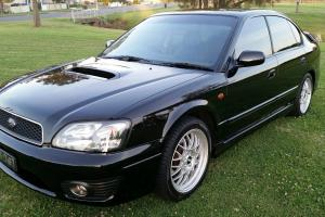 Subaru Liberty B4 2001 4D Sedan Manual 2L Twin Turbo Mpfi 5 Seats in NSW