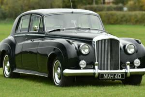 1958 Bentley S1 Standard Steel Saloon. Photo
