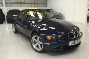 1998 BMW Z3 2.8i widebody manual petrol roadster in Montreal Blue