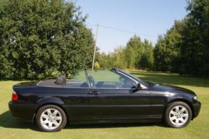BMW 320 2.2 2004MY Ci SE CONVERTIBLE 5spd LEATHER LOW LOW MILES